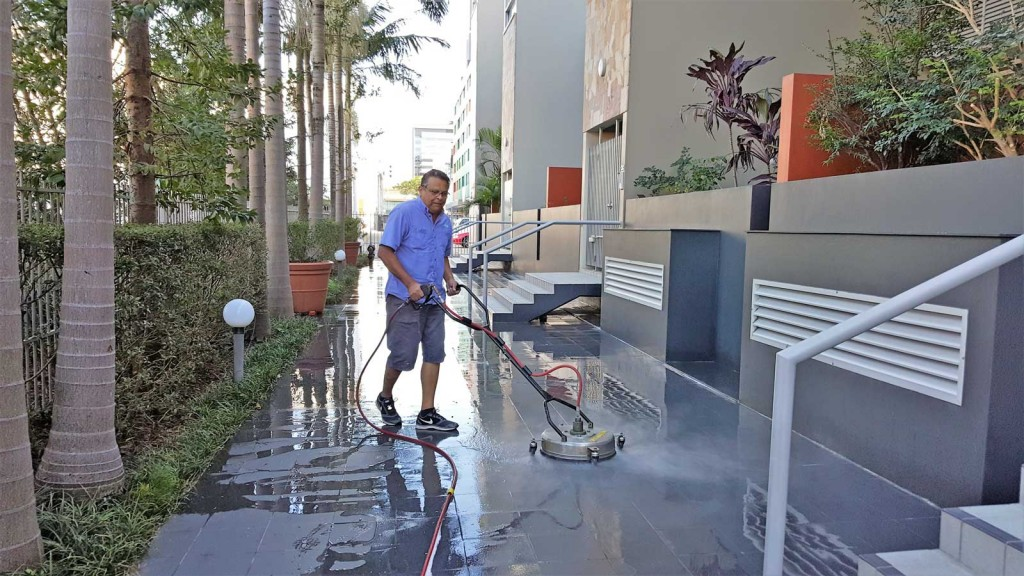 Cleaning-Concrete